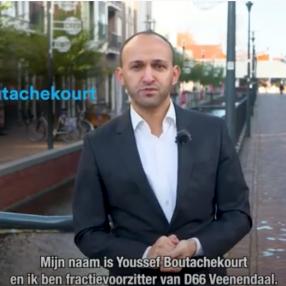 screenshot filmpje van Youssef